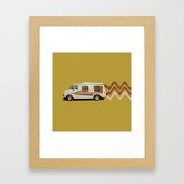 Keepin' it Movin' Framed Art Print