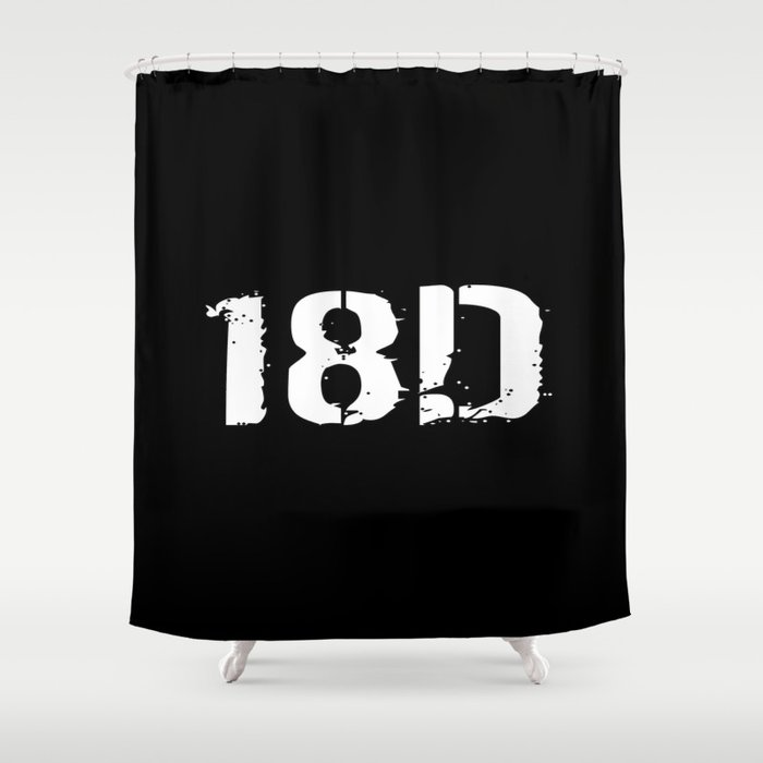 18D Special Forces Medical Shower Curtain