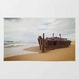 SS Maheno Shipwreck Rug