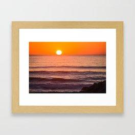 South Ponto Sunset 02 Framed Art Print