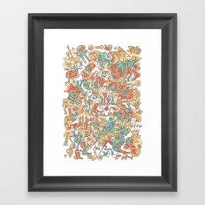 Schema 19 Framed Art Print