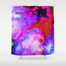 Charged Shower Curtain