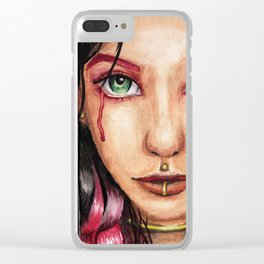 Wounded Soul Clear iPhone Case