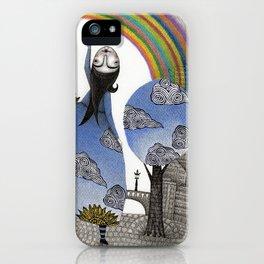 Rainbow Mine iPhone Case