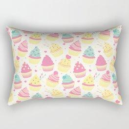 Sweet Cupcakes 3 Rectangular Pillow