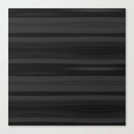 Black Wood Texture Canvas Print