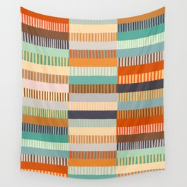 Fall Grandmother's Quilt Wall Tapestry