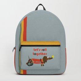 let's roll together Backpack