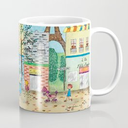 Happy in Paris Coffee Mug