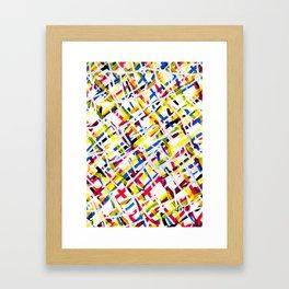 Propaganda 09 Poster Patterns Framed Art Print