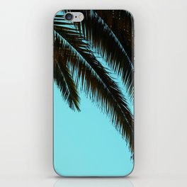 High-Contrast Palm Fronds iPhone Skin