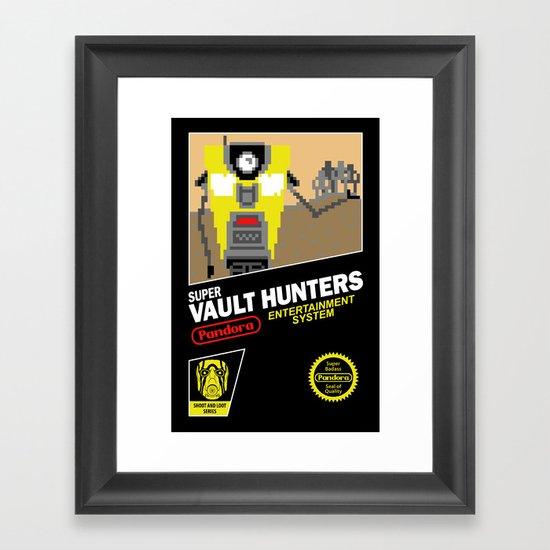 Super Vault Hunters Framed Art Print