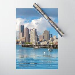 Boston 02 - USA Wrapping Paper