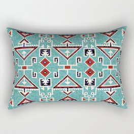 Native American Navajo pattern Rectangular Pillow