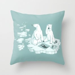 This Keeps Happening Throw Pillow