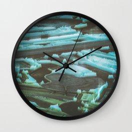 landing pad four Wall Clock