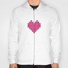 Pixelated Heart Hoody