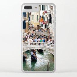 Venice Life Clear iPhone Case