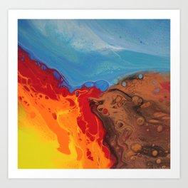 Earth Wind Fire Art Print
