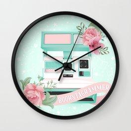 Bookstagrammer Wall Clock