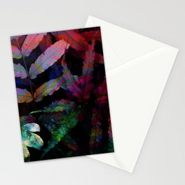 Tropical Night Stationery Cards