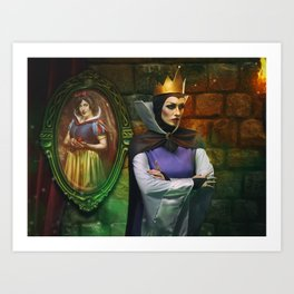 Fairest one of All . . . Art Print