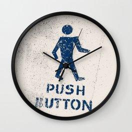 Push Button Wall Clock