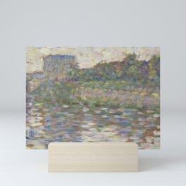The Seine at Courbevoie Mini Art Print