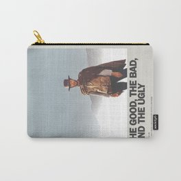 The Good, the Bad, and the Ugly Minimal Movie Poster No 02 Carry-All Pouch