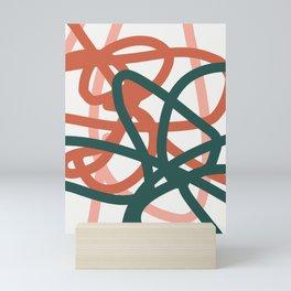 Abstract Lines 01A Mini Art Print