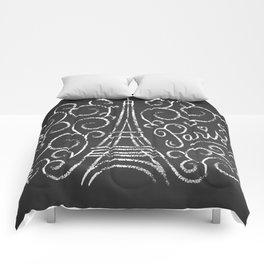 Paris Sketch Comforters