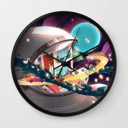 IN ORBIT Wall Clock