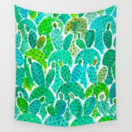 Cactus Practice Wall Tapestry