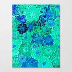 Wall Flowers Canvas Print
