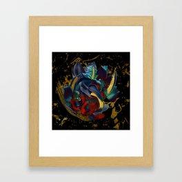 Gold Dreams Framed Art Print