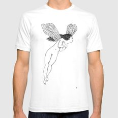Grimshaw's Fairy 2 Mens Fitted Tee SMALL White