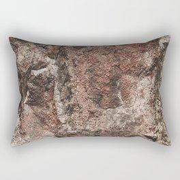 Rock Texture I | Earth Colors | Texture Photography Rectangular Pillow