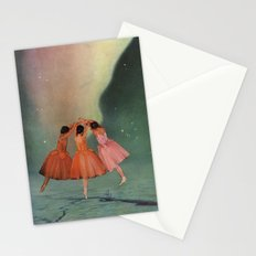 Dance of the Northern Lights Stationery Cards