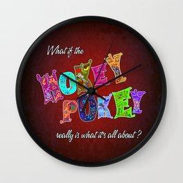 Hokey Pokey Wall Clock