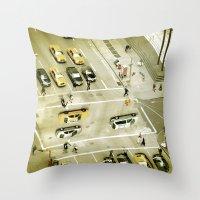 escher Throw Pillows featuring Escher Intersection by Vin Zzep
