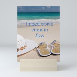 Vitamin Sea Mini Art Print