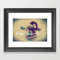 Happy New Year :) Framed Art Print