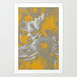 Petal Eclipse Art Print