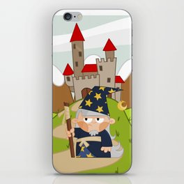 Magician iPhone Skin