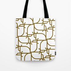 A Geometric Pattern Tote Bag