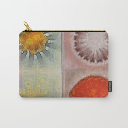 Flagonet Reality Flowers  ID:16165-093245-05721 Carry-All Pouch