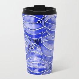 Vietnamese Lanterns – Navy Travel Mug