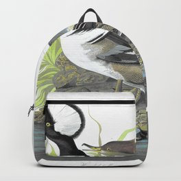 Hooded Merganser - John James Audubon Backpack