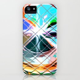 Harlekin abstrakt. iPhone Case