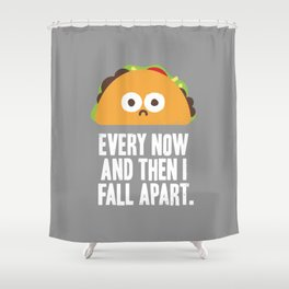 Taco Eclipse of the Heart Shower Curtain